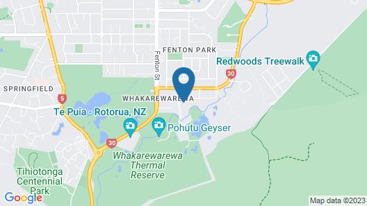 Holiday Inn Rotorua, an IHG Hotel Map