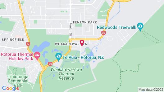 Holiday Inn Rotorua Map