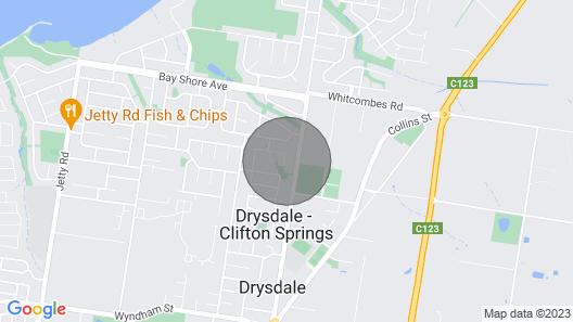 Parkway Place B&b, Clifton Springs, Bellarine Peninsula Map