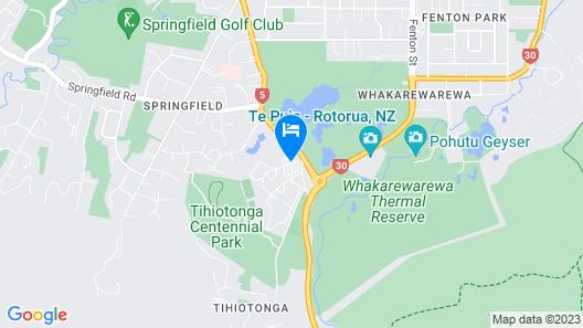 Rotorua Thermal Holiday Park Map