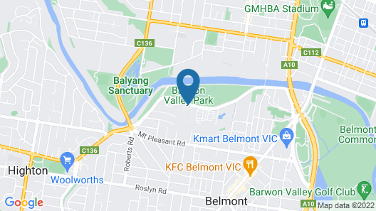 Discovery Parks – Geelong Map