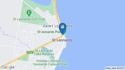 St Leonards Hotel Map