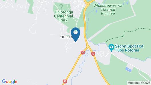 Tihi Retreat Map