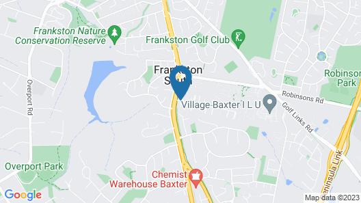 Frankston Motel Map