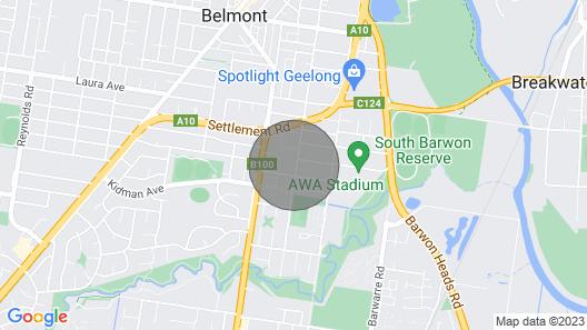 Francis Geelong 156 - Belmont 4 Bedroom Map