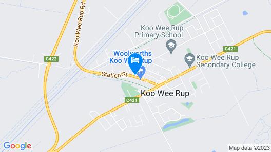 Koo Wee Rup Motel Map