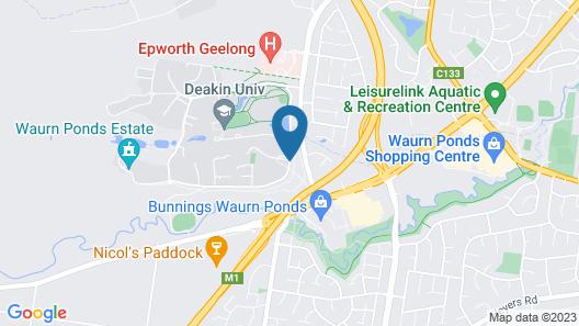 Deakin Geelong Units Map