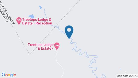 Treetops Lodge & Estate Map