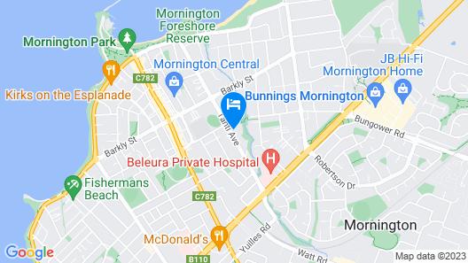 Brooklands of Mornington Map