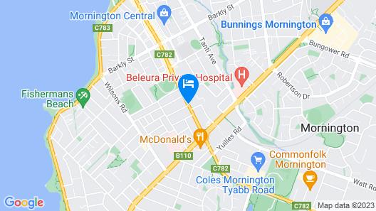Mornington Motel Map