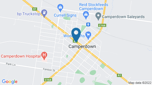 Leura Hotel Camperdown Map