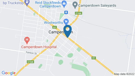 The Camperdown Mill - South West Victoria Map