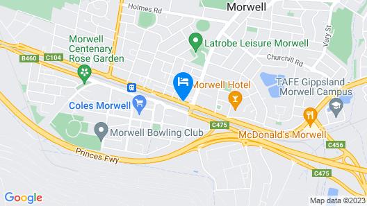 Morwell Motel Map
