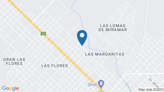 La Posada del Mar Miramar Map