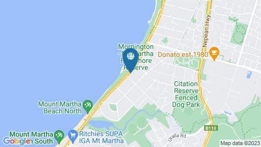 Mt Martha Villas Map