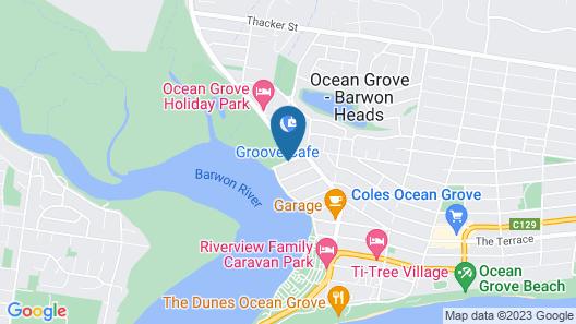 Boat Ramp Motel Map