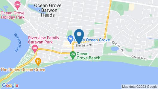 Ocean Grove Chalet Map