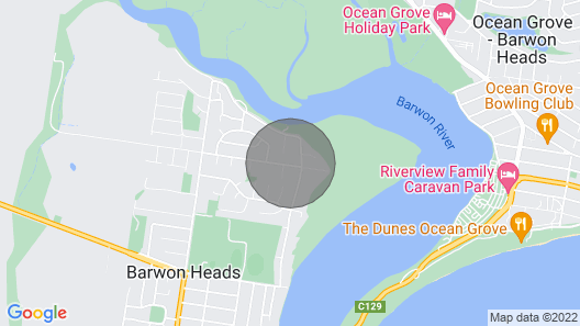 Tranquil Taits - Barwon Heads Map