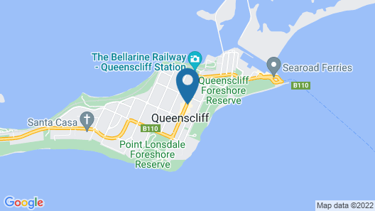 Circa 1902 Queenscliff Map