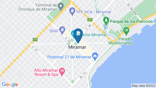 Hotel Danieli Map