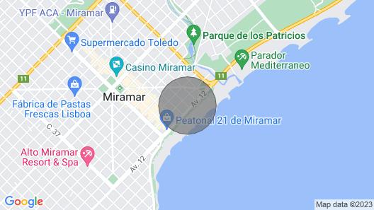 Seaside Miramar Apartment Map