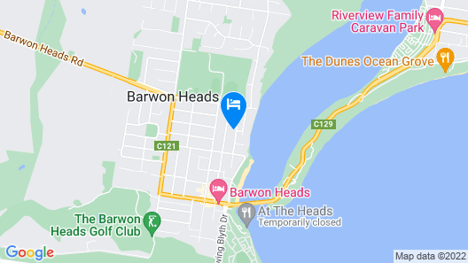 Seaview Beach House Barwon Heads Map