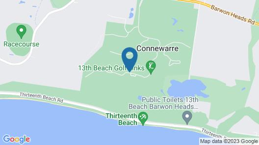 Barwon Heads Apartment Map