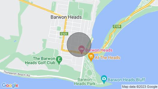 Cosy Barwon Heads Main Street Home Map