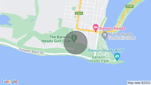 Barwon Heads Holiday House Map