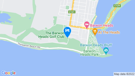 Barwon Heads Golf Club Map