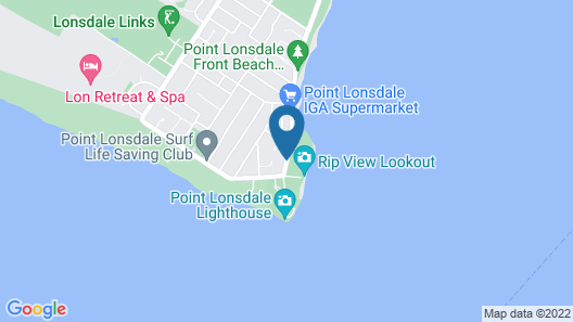Point Lonsdale Guest House Map