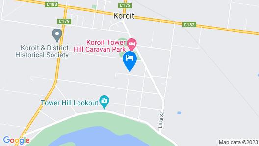 Saint Patrick's Luxury Boutique Hotel Map