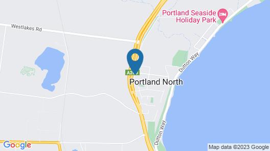 Whalers Rest Motor Inn Map