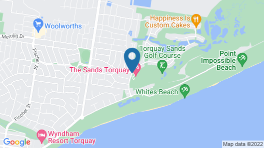 Beach & Golf Stays Torquay Map