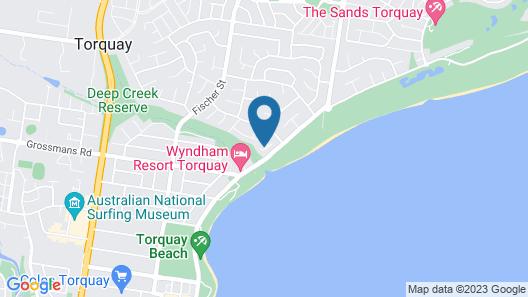 The Beach House Map