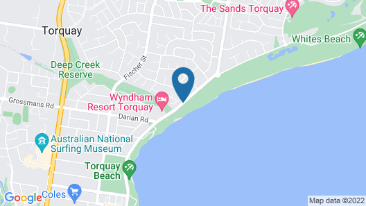 On The Esplanade Apartments Map