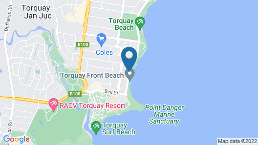 Two Bays Apartments Map