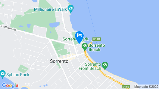 Hotel Sorrento Map