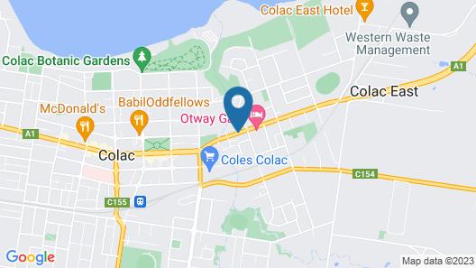 Baronga Motor Inn Map