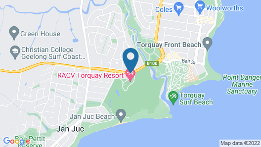RACV Torquay Resort Map