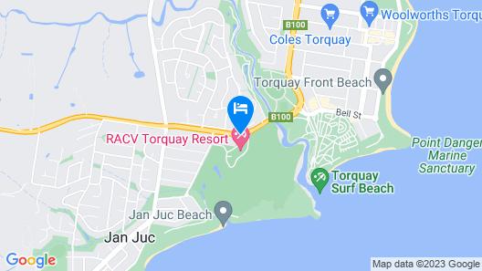 RACV Torquay Resort Map