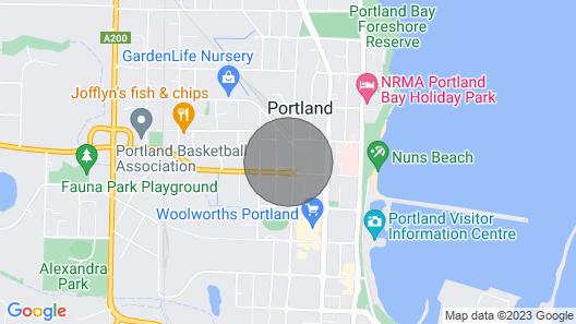 Hurdit - Cottage Near Beach and CBD Map