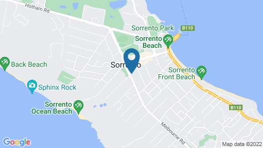 Sorrento Beach Cottages 1 Map