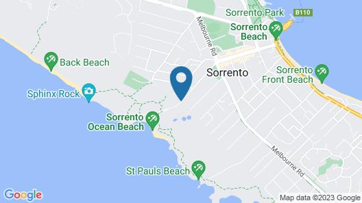 Oceanic Apartments Sorrento Map