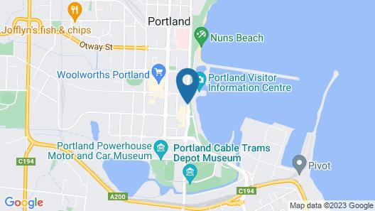 Comfort Inn Richmond Henty Map