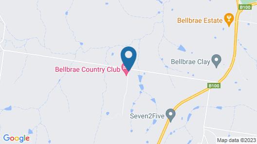 Bellbrae Country Club Surf Coast Map