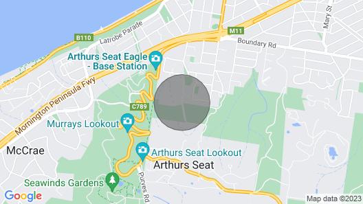 Bellevue sur Mer Map