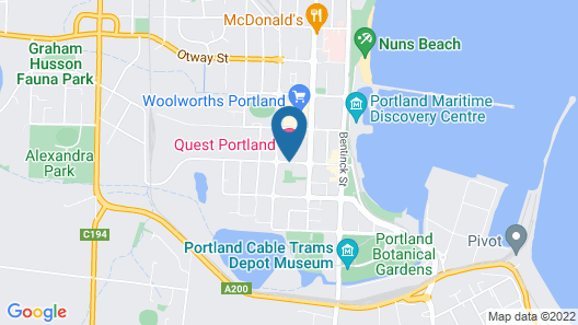 Quest Portland Map