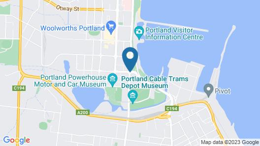 Quality Hotel Bentinck Map