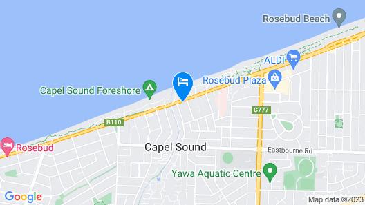 Beach Holiday Apartments Motel Map